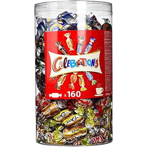 Celebrations - Assortimento di cioccolatini, 160 praline in una scatola da 1435 g