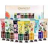Ownest Crema da mani al profumo di piante da 10 mani con crema idratante Set da viaggio con proteine aloe e vitamina E per uo