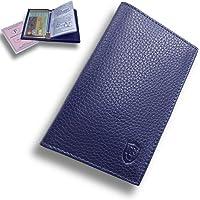 Porte Papier Voiture Cuir avec 2 Etuis Proteges Carte Grise et Permis - Porte Document Véhicule avec Rangement Assurance…