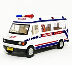 City Traveler Ambulance (with Back Door openable & Inside Detailing)