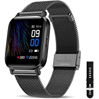 "CanMixs Smartwatch Fitness Armband Uhr 1.54"" Voller Touch Screen Fitnessuhr IP68 Wasserdicht Fitness Tracker Sportuhr…"