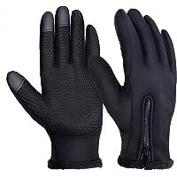 yokamira Guanti Invernali Antivento Termici Impermeabili per Uomo e Donna, Guanti da Caldi Esterni Sportivi con Touch…