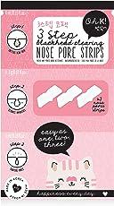 Oh K! Nasenstreifen zum Entfernen von Mitessern – Streifen zur Nasenreinigung in 3 Schritten