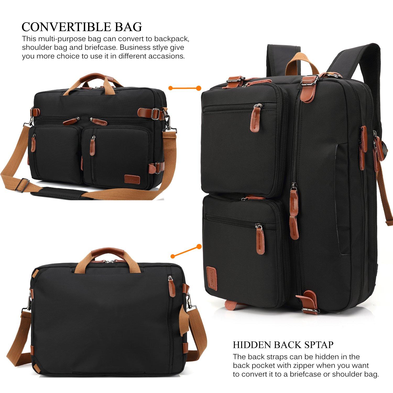 4984d66272 CoolBELL Convertible Backpack Shoulder bag Messenger Bag 5506 ...