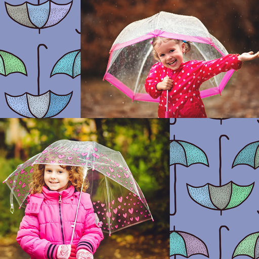 Umbrella Photo Collage