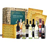 Wein Geschenk Set (9 x 0,25l)   besonderes Weingeschenk Box ausgefallene Geschenkidee für Frauen Männer Freund Freundin für Weihnachten Geburtstag