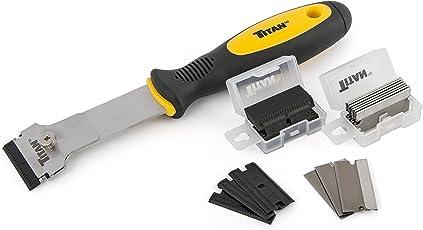 Titan Tools 17008 Scraper Set with Non-Marring Blades (22 Piece)