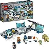 LEGO 75939 Jurassic World Dr Wu's laboratorium: Ontsnapping van de Babydinosaurussen, Dinosaurus Speelgoed met Owen Minifiguu