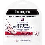 Neutrogena Intensieve CICA voetmasker, bijzonder droge voeten en gebarsten hiel, 1 paar wegwerpsokken