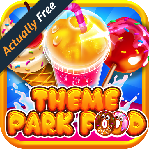 Theme Park Fair Food Maker - FREE Kids Game, Make Dessert Foods, Amusement Parks Candy Pizza, Toy Prizes, Bake & Cook Chef for Boys & Girls