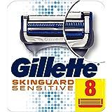 Gillette SkinGuard Sensitive Rakhyvelblad för Män, 8-pack
