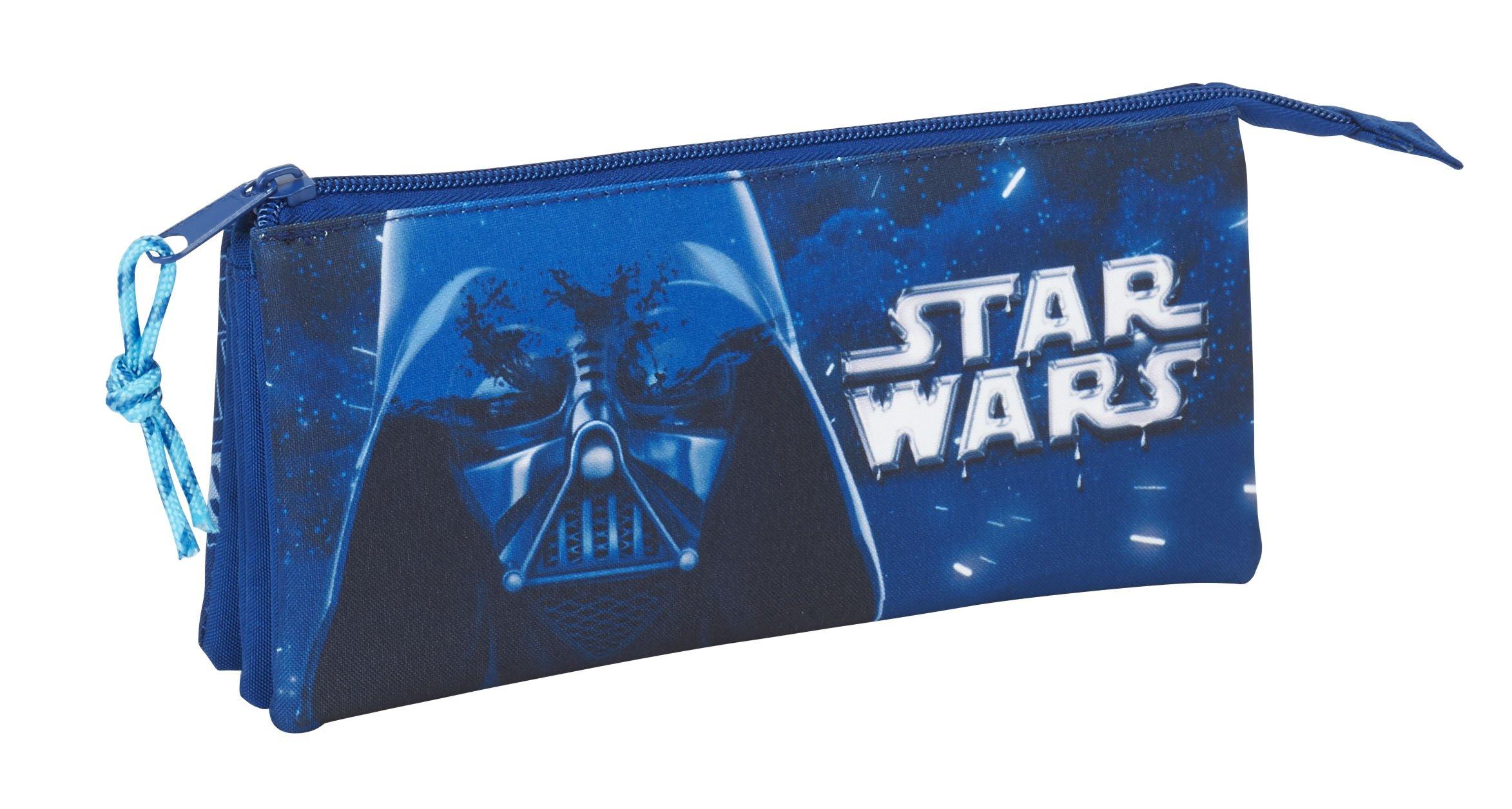Safta Estuche Escolar Star Wars «Neon» Oficial 220x30x100mm