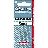 Mag-Lite Krypton-gloeilampen, Mini AA/AAAI, 2 stuks