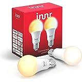 Innr E27 Smart LED-lamp, 2200K - 5000K, werkt met Philips Hue* & Alexa (bridge vereist) instelbaar wit licht, 2-Pack, RB 278T
