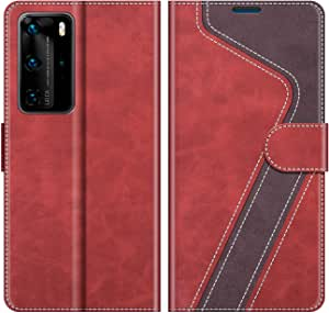 Mobesv Mobile Phone Case For Huawei P40 Pro Leather Elektronik