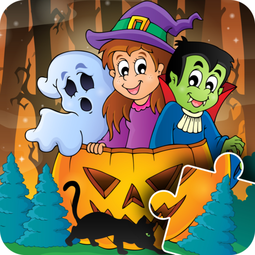 Kids Halloween Jigsaw Puzzle - fun & happy game for preschool toddlers, boys and girls - Free Trial