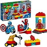 LEGO 10921 Duplo Super Heroes Laboratorio de Superhéroes Juguete de Construcción para Niños 2+ años con Spider-Man, Ironman y