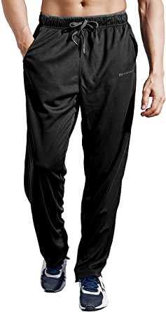 ZENGVEE Tracksuit Trousers Men Lightweight Joggers Men Elasticated Waist Athletic Sweatpants Mens Tracksuits Bottoms with Pockets for Workout,Gym,Running,Training