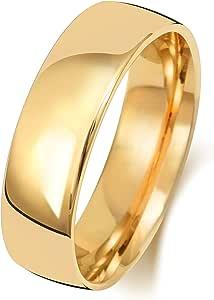 Anello Fede Nuziale Uomo/Donna 6mm in Oro giallo 18k (750) WJS1512718KY