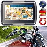 NavGear TourMate N4, Motorrad-, Kfz- & Outdoor-Navi mit West-Europa