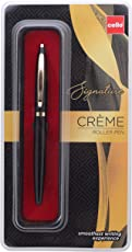 Cello Signature Creme Ebony Roller Pen