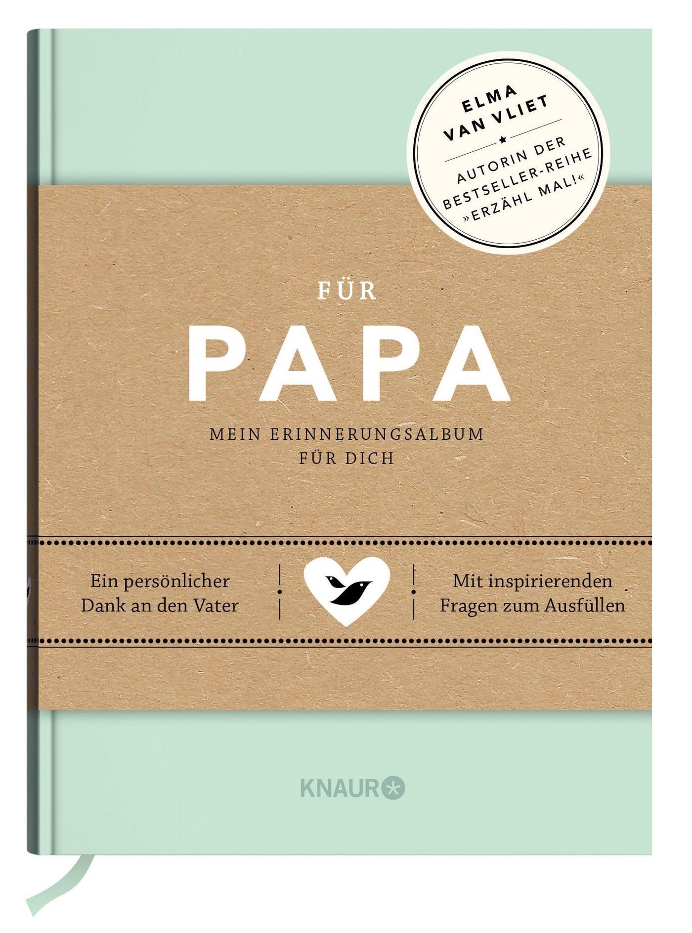 Für Papa: Mein Erinnerungsalbum für dich - Geschenke für Papa ...