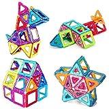 Bloques de construcción de Bloques magnéticos de 64 Piezas Juegos educativos para niños, de Morcare Construction Building Set