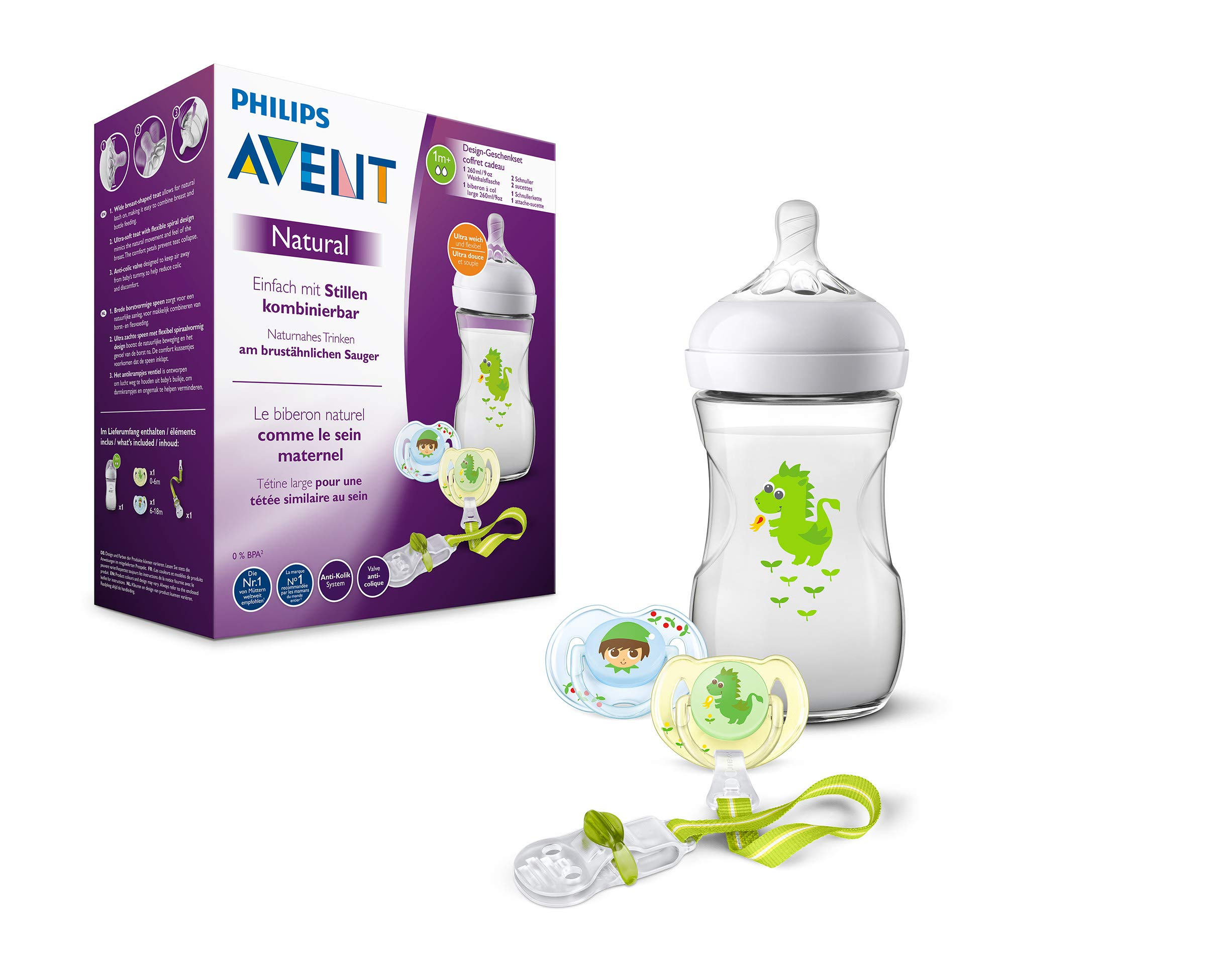 Philips Avent Natural – Set de regalo biberones