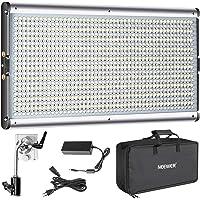 Neewer LED Torche Dimmable Bi-couleur Lampe Video pour Studio, YouTube Vidéo Extérieure Kit d'Eclairage, Cadre en Métal Durable, 960 LED Ampoules, 3200-5600K, CRI 95+