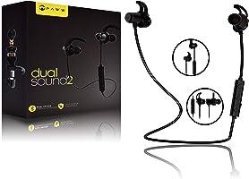 Paww DualSound 2 audífonos – Banda para el Cuello a Prueba de Sudor Bluetooth 5 Auriculares – Calidad de Sonido y...