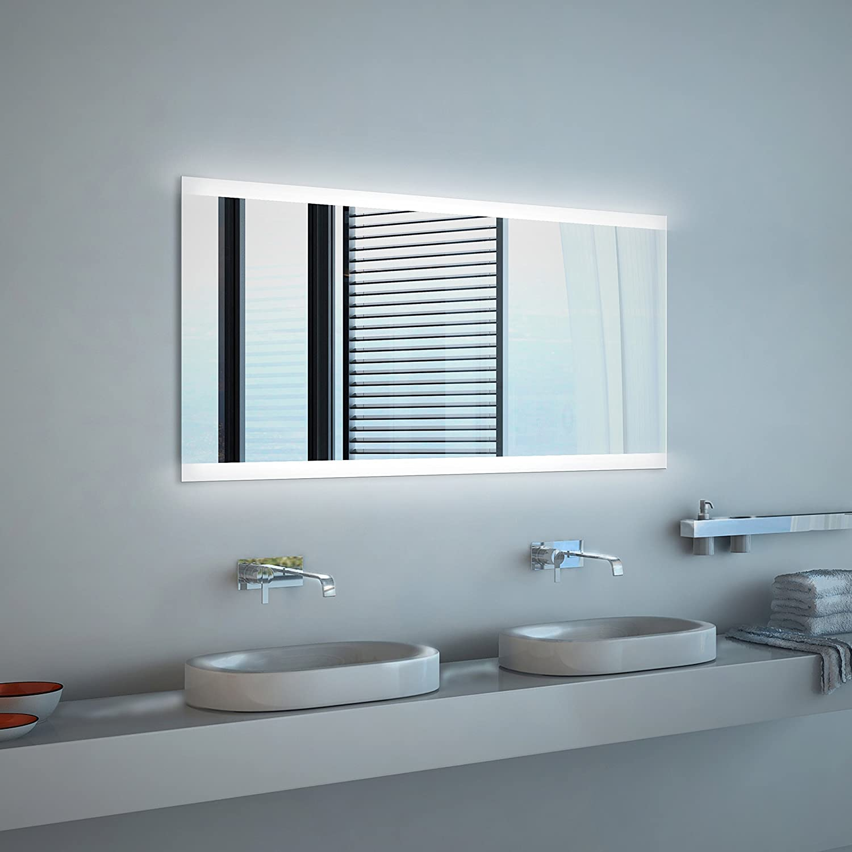 Noemi 2018 Design - LED BADSPIEGEL mit Beleuchtung - Made in ...