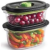 Boîtes alimentaires FoodSaver de conservation et marinade | Boîtes alimentaires hermétiques sans BPA | Anti-fuite | Vont au l
