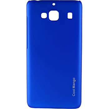 Xiaomi Redmi 2 Prime Back Cover / Case - Cool Mango Premium Rubberized Back Cover For Xiaomi Redmi 2 Prime - Perfect Blue