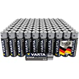Varta Power On Demand AA Mignon Batterijen (Verpakking Met 100 Stuks - Smart Home-Apparaten Of Zaklampen)