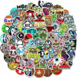 MYLIES Pegatinas 100-PCS, Stickers Skate, Pegatinas para Portátiles, Botellas de Agua, Moto, Equipaje, Monopatín, Pegatina, L