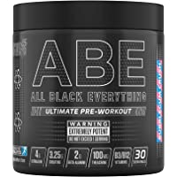 Applied Nutrition ABE - All Black Everything Pre Workout Energy, Increase Physical Performance with Citrulline, Creatine…