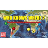 Wild Card Games Who Knows Where? - The Global Location Guessing Family Board Game