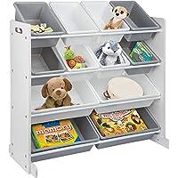 ONVAYA® Étagère pour enfant | Organiseur | Étagère à jouets avec boîtes (organisateur de jouets)