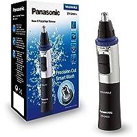 Panasonic ER-GN30-K503 Rifinitore di Precisione per Naso, Orecchie e Sopracciglia, Tagliapeli Resistente all'Acqua, Nero