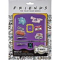 Friends Kit de 18 Magnets (How You Doin'), Multicolore, 18 x 24 x 0, 3 cm