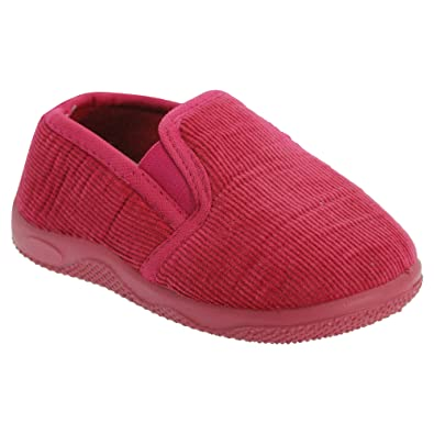 Childrens/Kids Classic Toddler Slippers: Amazon.co.uk: Shoes & Bags