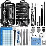 oGoDeal Kit Jeu Tournevis de Précision 127 en 1 Kit Outils Bricolage Electronique de Réparation Pour Smartphone,Pc ordinateur
