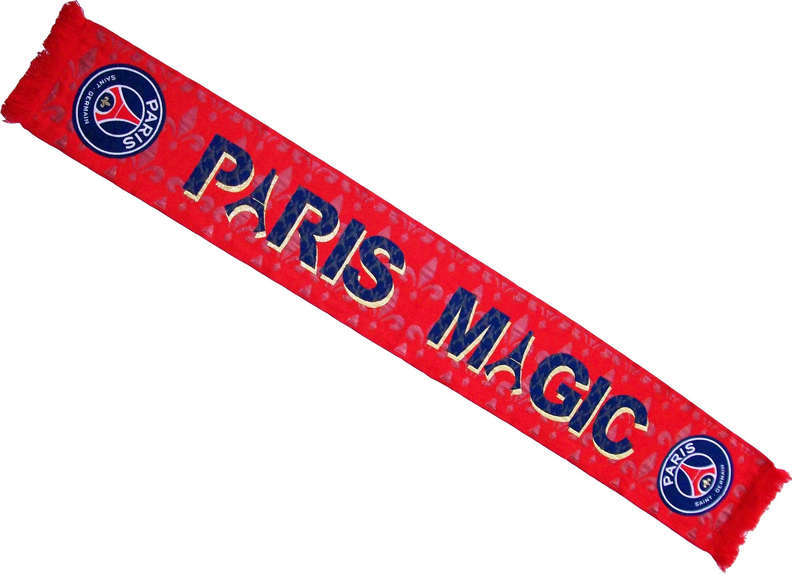 Sciarpa del PARIS SAINT GERMAIN, collezione ufficiale squadra di calcio PARIS SAINT GERMAIN, modello