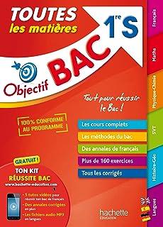 Objectif Bac Physique Chimie 1ere S Amazon Fr Barde Michel Barde Nathalie Ramon Anne Laure Albrand Didier Livres