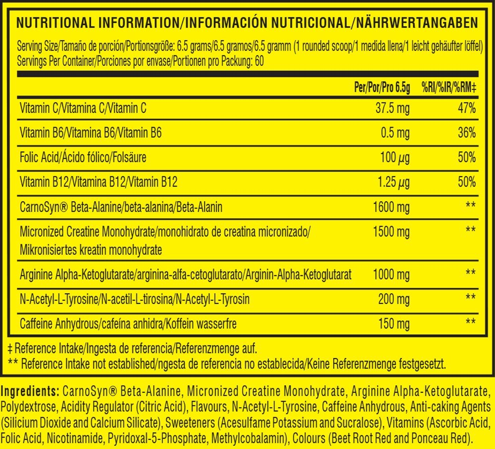 C4 Original Beta Alanine Sports Nutrition Bulk Pre Workout Powder for Men & Women | Best Pre-Workout Energy Drink…