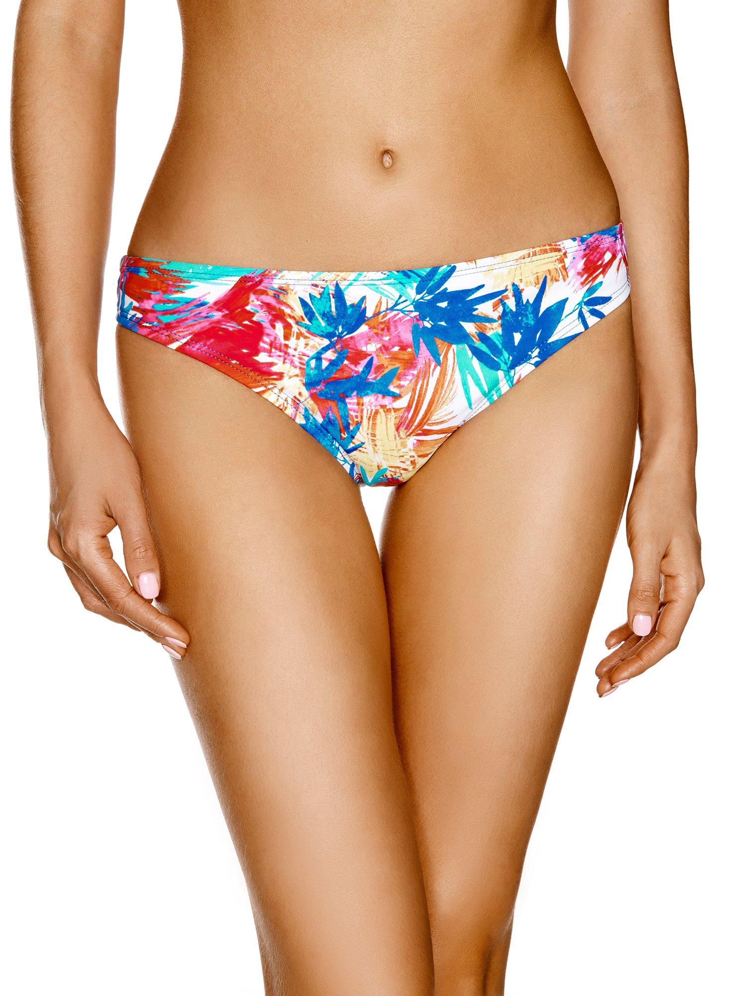 oodji Ultra Donna Bikini Slip Stampa Estiva 1 spesavip