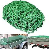 Yahee Anhängernetz Gepäcknetz Anhänger Netz Transportnetz Ladungssicherung Abdecknetz 2 x 3m