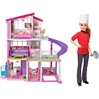 Barbie New Dream House & Barbie Career Doll - Chef Doll