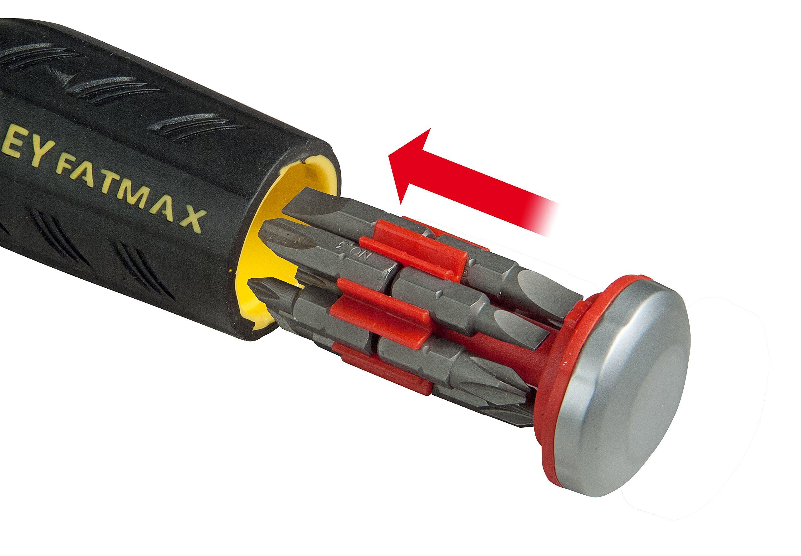 81z0f7YVQ3L - STANLEY FMHT0-62689 - Multipuntas FatMax de carraca con LED. 12 puntas