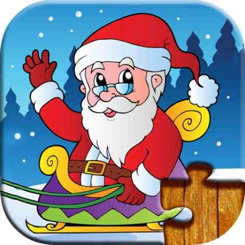 Christmas Games for Kids - Full version (Freetime Edition) - Fun and Educational Jigsaw Puzzle Game for Kids and Preschool Toddlers, Boys and Girls 2, 3, 4, or 5 Years Old